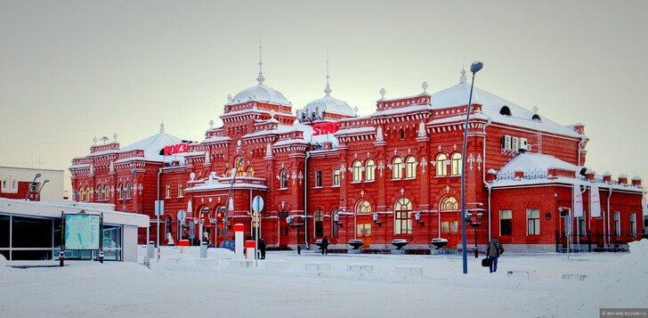 Ж/д вокзал Казань-1 © Denis Mironov