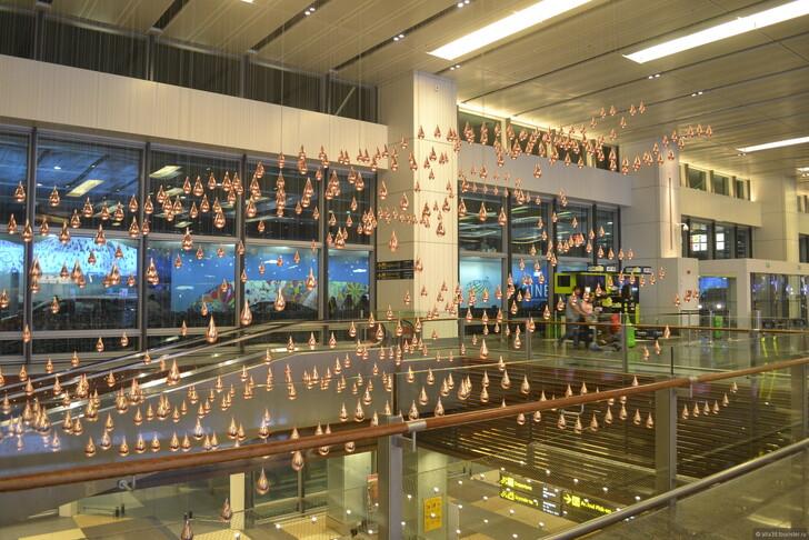 Аэропорт «Чанги», Сингапур © Алла