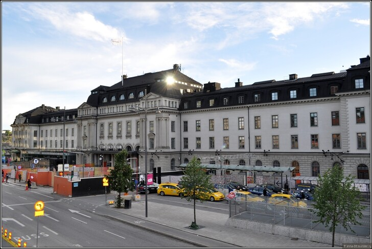 Ж/д вокзал Стокгольма © Анна Кудрявцева