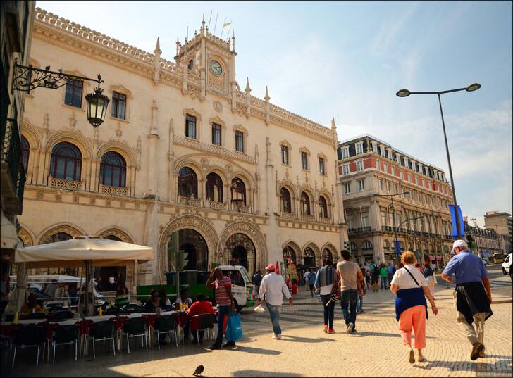 Вокзал Росиу, Лиссабон © Ирина Дементьева