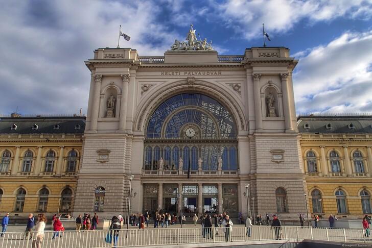 Вокзал Келети © Татьяна Лискер