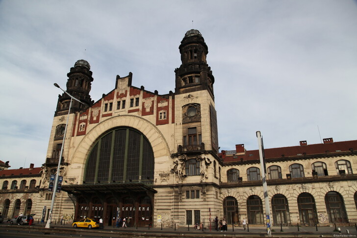 Главный вокзал Праги © Анна Струкова
