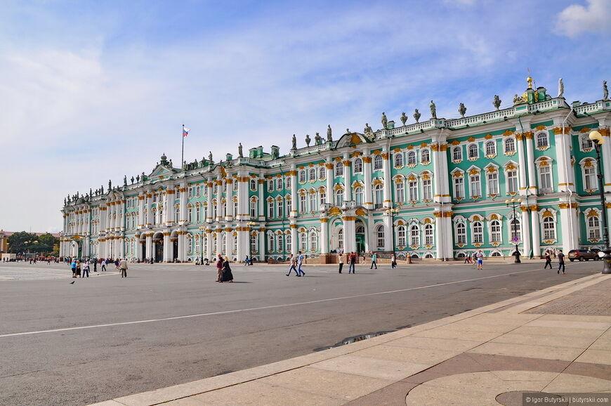 Государственный Эрмитаж. Санкт-Петербург. Фото.