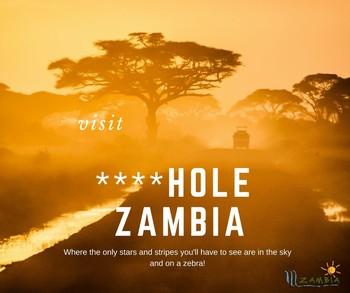 Замбия использовала слова Трампа о «странах-дырах» для привлечения туристов
