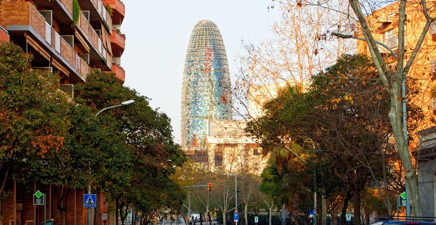 Башня Агбар в Барселоне (Torre Glòries)