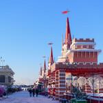 Кремлевская набережная Казани