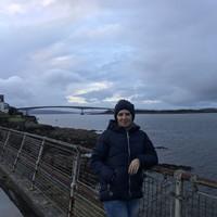 мост на о. Скай и Атлантический океан