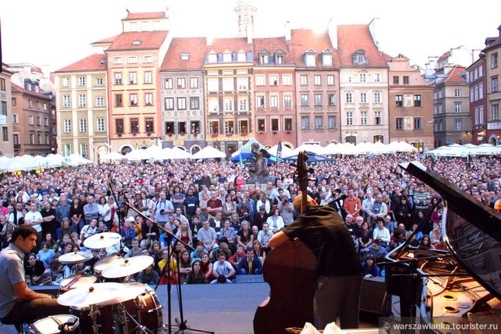 Июль-Август. Джаз в Старом Варшавском городе. Бесплатные концерты!