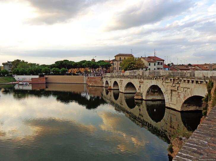 Мост Тиберия в Римини © Светлана