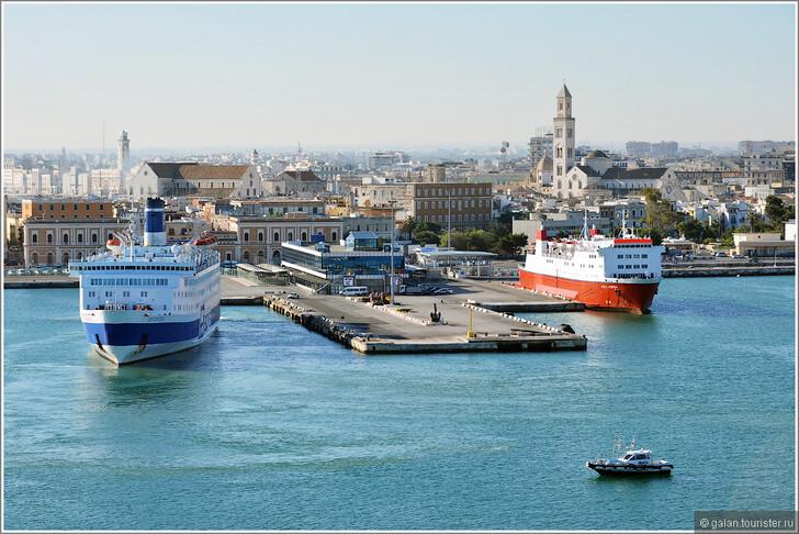 Порт Бари © Галина
