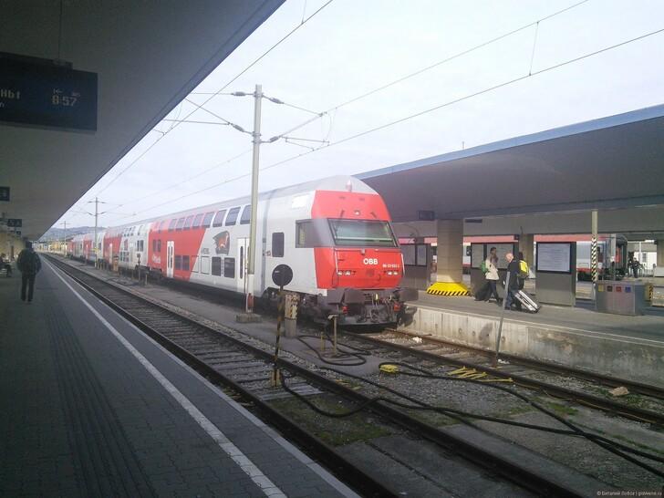 Западный вокзал Вены (Westbanhof) © Виталий Лобов