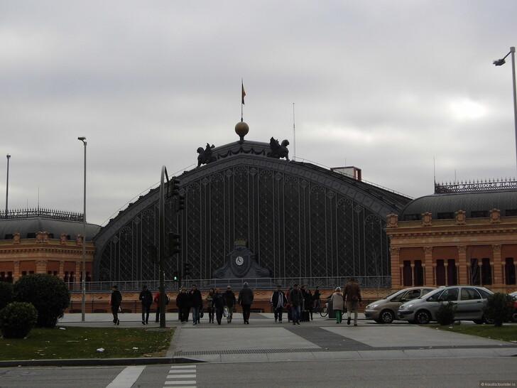 Вокзал Аточа в Мадриде (Madrid Puerta de Atocha). Фото: © Klaudia Ziryukina
