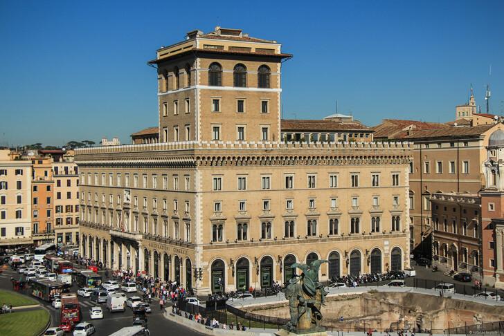 Палаццо Венеция, Рим © Наталия Семчина
