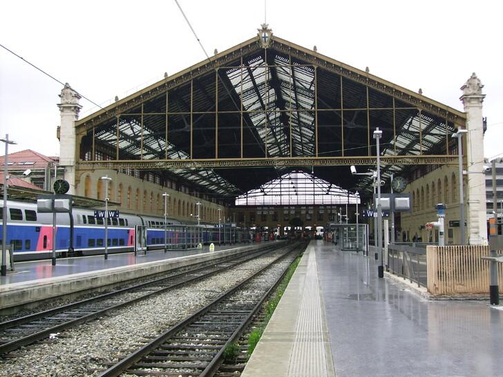 Вокзал Сен-Шарль в Марселе © Stef48