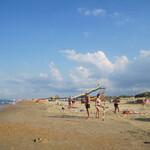 Центральный пляж «Витязево» в Анапе