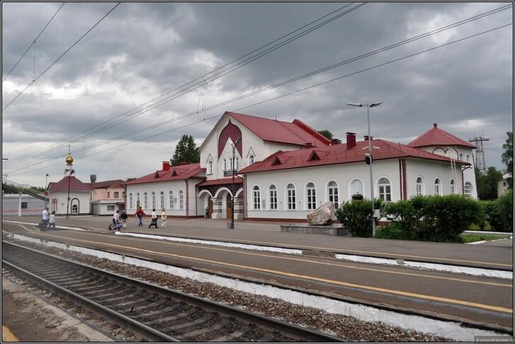 Ж/д вокзал Мурома © Анна Кудрявцева