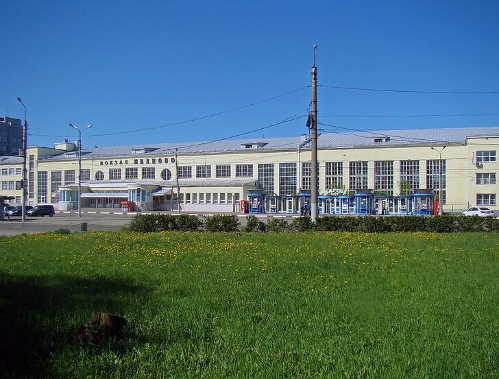 Ж/д вокзал Иваново © Алексей Белобородов