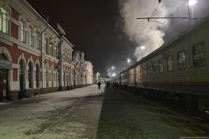 Ж/д вокзал Вологды © Ирина Порунова