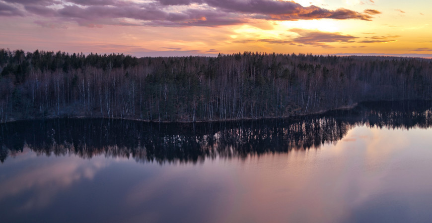 Памятник природы Ястребиное озеро