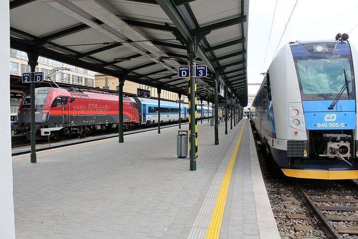 Поезд Брно – Прага. Фото: © Jan Sapák
