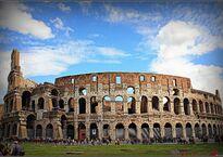 Один из фасадов Колизея