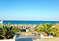 Вид на пляж со стороны ТРК Мандарин