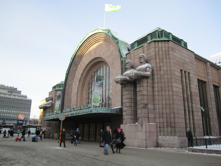 Вокзал Хельсинки © Алексей