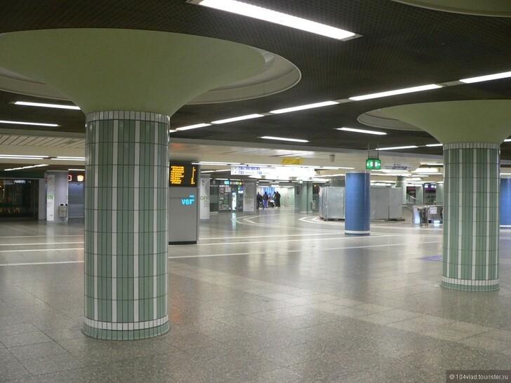 Вокзал Франкфурта © Владислав Будницкий