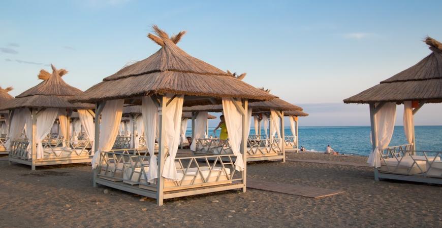 Пляж «Чайка» в Адлере