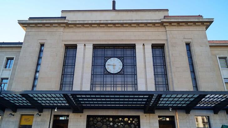 Железнодорожный вокзал Женевы © Eduard Keilmann