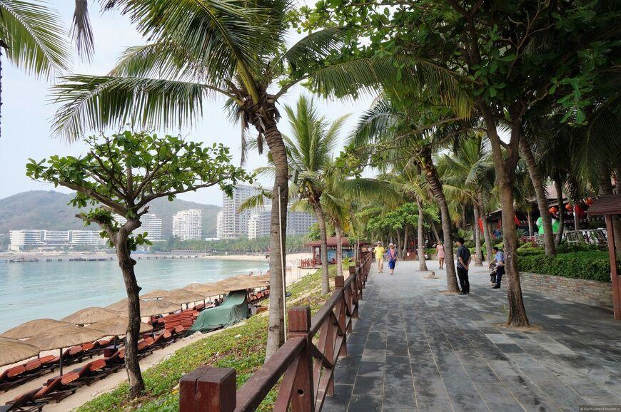 Бухта Дадунхай медицина Бухта Дадунхай пляж Дадунхай шоппинг Одна из лучших бухт морского курорта Хайнань чем она привлекательна кроме пляжа