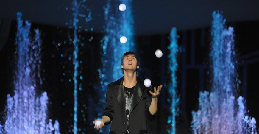 Цирк танцующих фонтанов Аквамарин в Москве