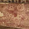 Фрески на стенах храма Ягуаров