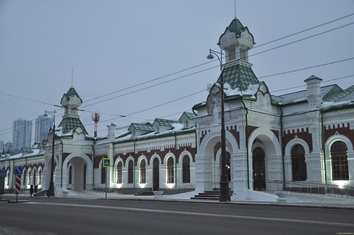 Исторический ж/д вокзал, Пермь © Елена