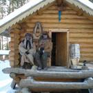 Родина Бабы Яги в селе Кукобой