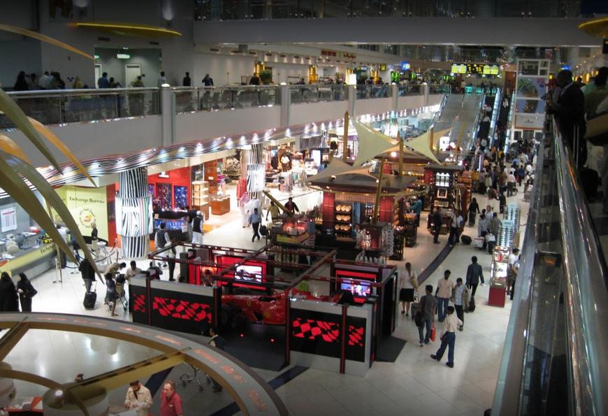 Международный аэропорт Дубая (AirPort Dubai)