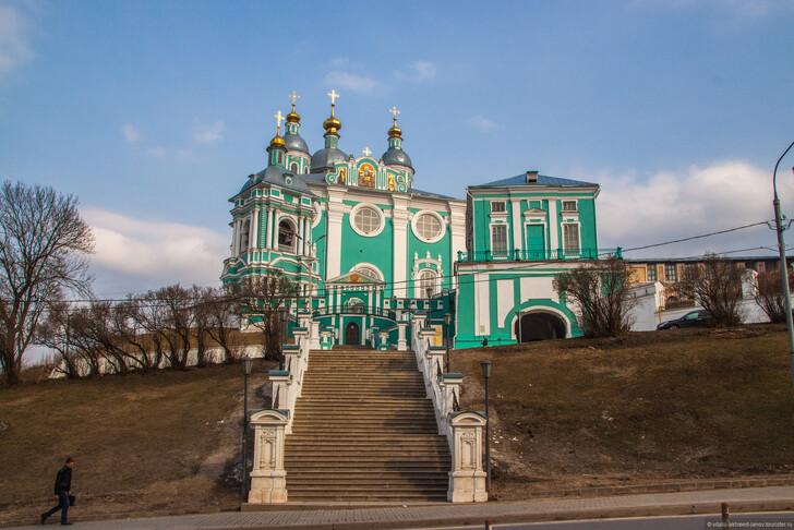 Успенский собор в Смоленске ©Виталий Ахмедьянов