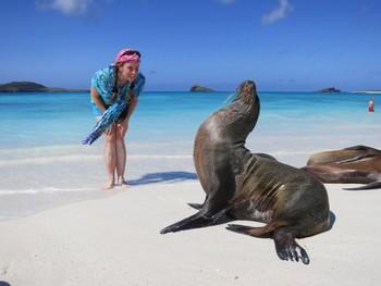 Галапагосы стали лучшим направлением мира для пляжного отдыха