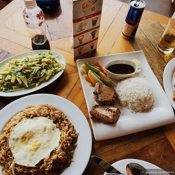 Еда на Мальдивах: сколько стоит поесть на Маафуши и на острове-резорте