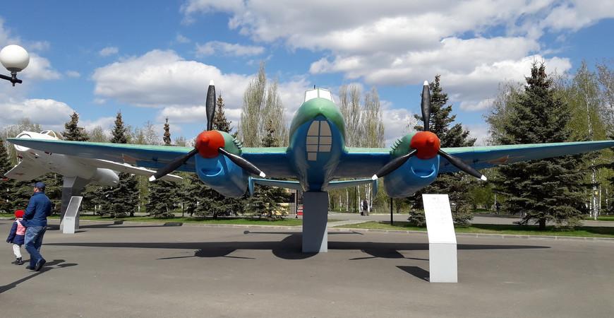 Музей военной техники под открытым небом в Казани