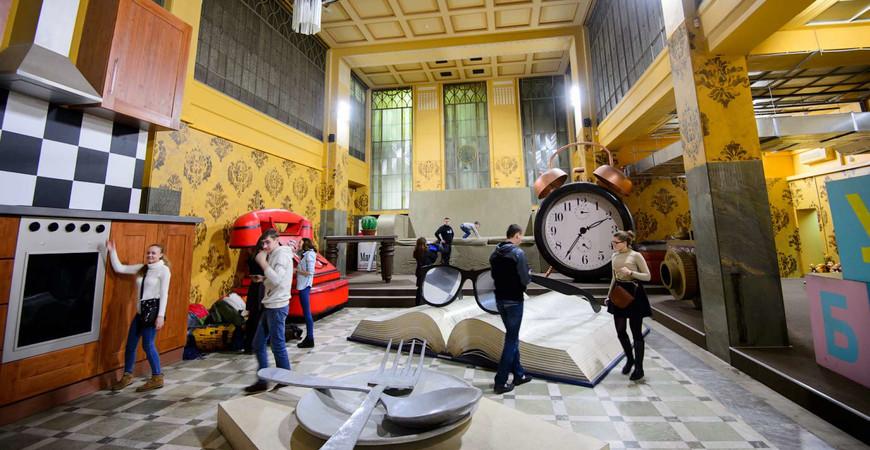Музей иллюзий и Дом великана в Нижнем Новгороде