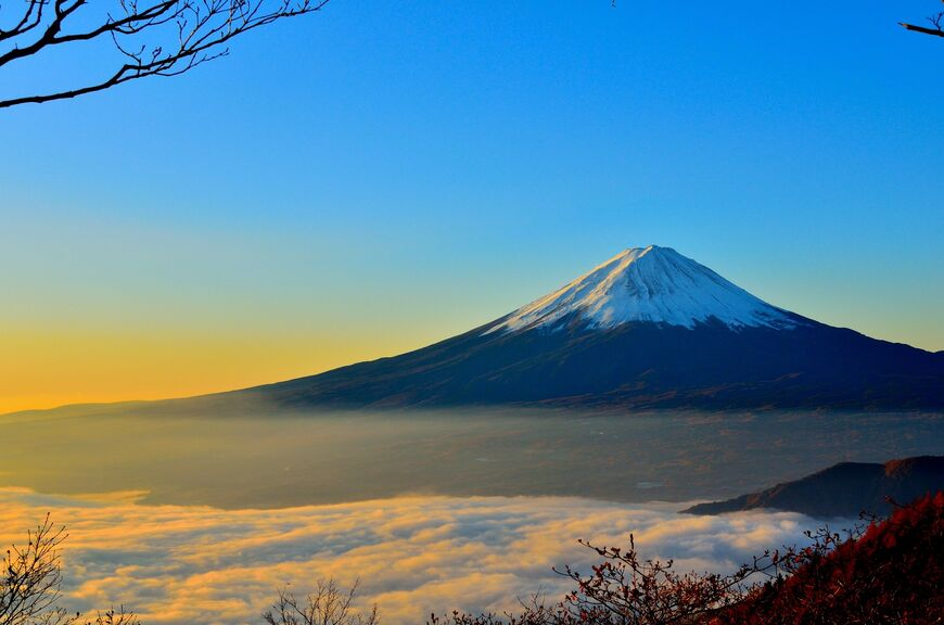 Священная гора Фудзияма  жемчужина японской культуры