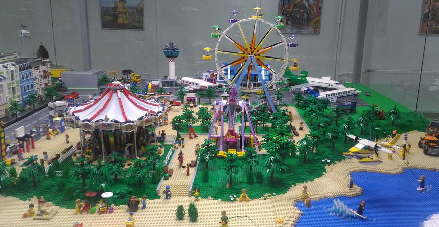 Выставка-музей Лего вМоскве