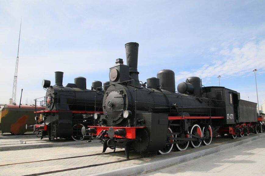 Железнодорожная экспозиция