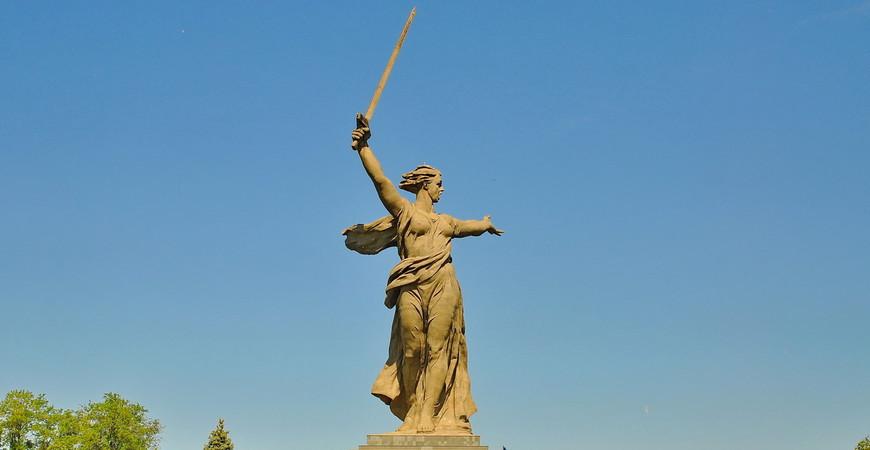 Памятник «Родина-мать зовет!» в Волгограде