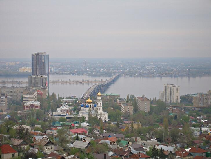 Панорама Саратова © Константин