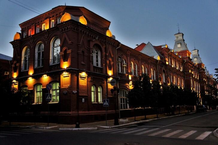Здание администрации Астрахани © Владимир Шалаев