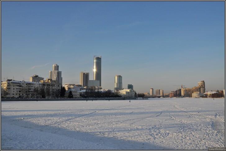Набережная Екатеринбурга © Анна Кудрявцева