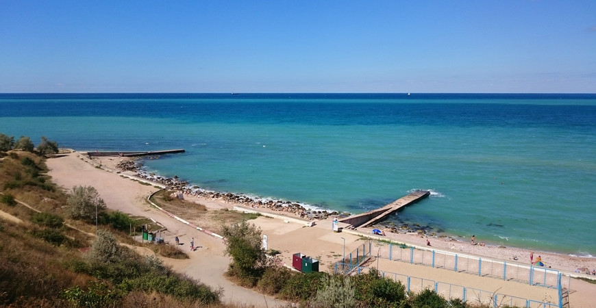 Пляж «Толстяк» в Севастополе