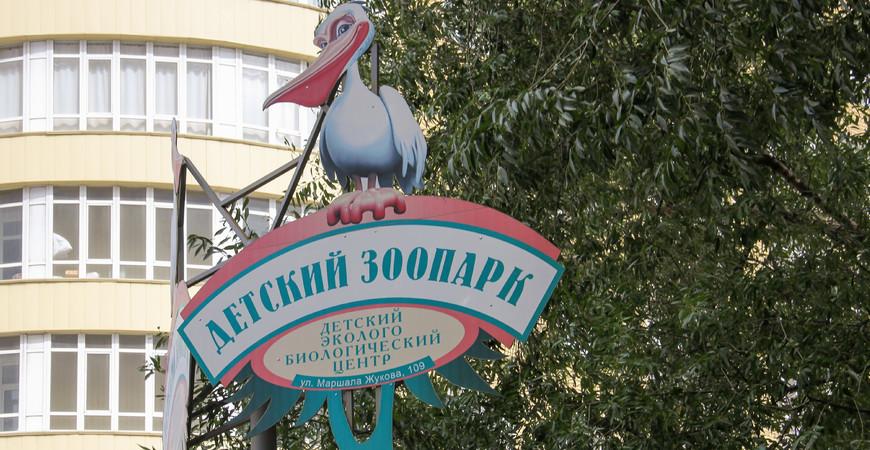 Детский зоопарк в Омске